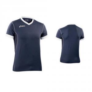 ASICS Shirt Sleeves Football Soccer Courtier Blue Elasto