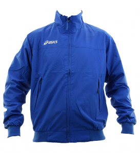 ASICS Unisex Lightweight Bomber Full Zip Perforated Lining Sailor Royal Blue