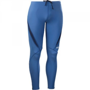 ASICS Tight Athletic Pants Running Junior Montreal Royal Blue Navy