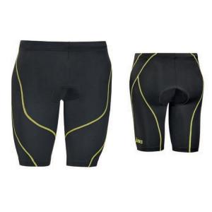 ASICS Short Shorts Mens Triathlon Black Lime