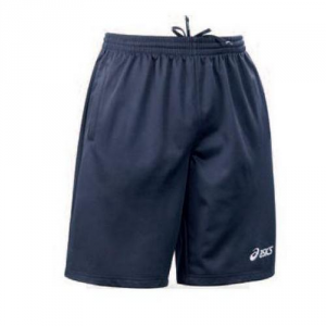 ASICS Sport Shorts Unisex Workout 2 Navy Pockets Work
