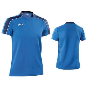 ASICS Jersey Tear-Man Rugby Sleeved T / S Stretch Heavenly Blue