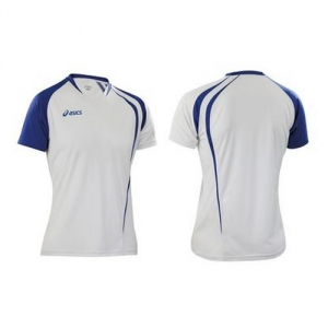 ASICS T-Shirt Men'S Short Sleeve Men'S Volleyball Royal Blue Fan