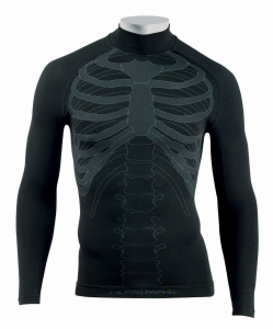 NORTHWAVE Men's long sleeve cycling jersey BODY FIT EVO black
