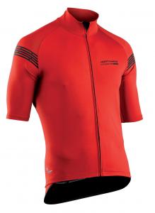 NORTHWAVE Man short sleeve light jacket EXTREME H20 - total protection red