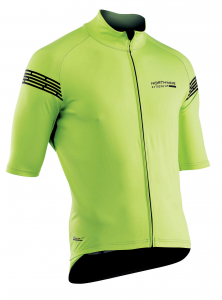 NORTHWAVE Man short sleeve light jacket EXTREME H20 -total protection yellow