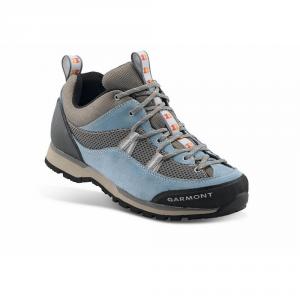 GARMONT Woman trekking boots STICKY BOULDER GTX light blue gray goretex