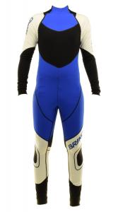 BRIKO VINTAGE Skisuit Cross-Country Skiing Man Katana Racing White Blue Black