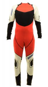 BRIKO VINTAGE Skisuit Cross-Country Skiing Man Katana Racing W.Cup X-C White Red
