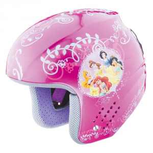 BRIKO Downhill Helmet Skiing Junior Rookie Disent Princess Pink Princess