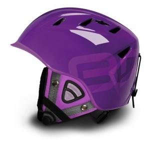 BRIKO Downhill Helmet Ski Snowboard Unisex Contest 10.0 Purple Lilac