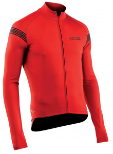 NORTHWAVE Men's long sleeve light jacket EXTREME H20 -red total protection