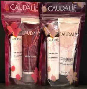 Caudalie set crema mani trattamento labbra