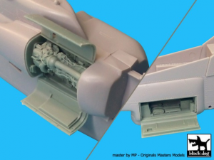 AH-1W engine+electronics - Italeri