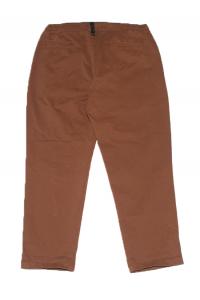 Pantalone Amish con coulisse color bruciato