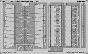 Fw-190A-2 landing flaps