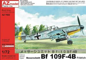 Messerschmitt Me-109F-4B Bomber Fridrich