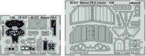 Meteor FR.9 interior
