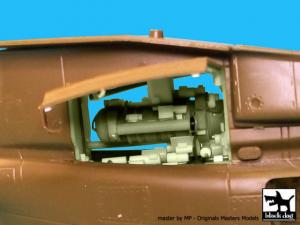 OH-58D Kiowa engine - Italeri