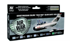 Soviet/Russian Colors Cold War Silver Darts 1950-1980 - set