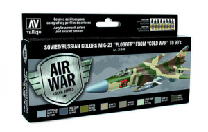 Soviet/Russian Colors MiG-23 Flogger from 70s to 90s