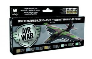 Soviet/Russian Colors Su-25/39