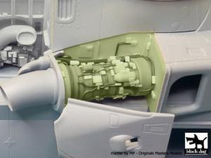 Westland Merlin HC3 engine set N°2 - Airfix