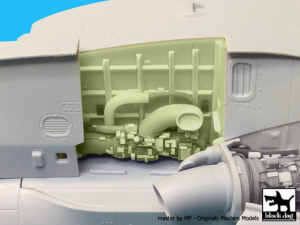 Westland Merlin HC3 engine set N°1 - Airfix
