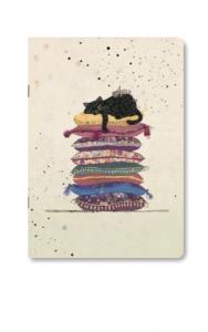 Quaderno in formato A5 diverse fantasie di gatto  (caha5a022)