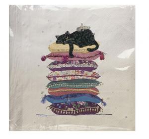 Tovaglioli di carta Gatto diverse fantasiei (spa01a01)
