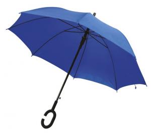 Ombrello Blu con impugnatura C cm.102x102x88h