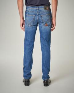 Jeans della linea RRS lavaggio chiaro
