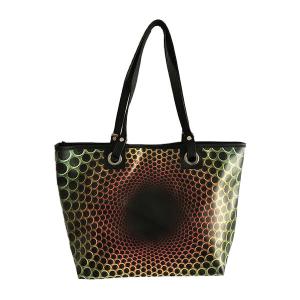 Shopper bag Woman Line Art and Music Merinda