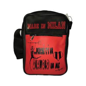 Unisex line shoulder bag