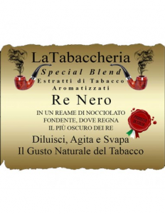 Re Nero Aroma concentrato - La Tabaccheria