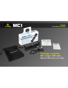 MC1 Caricabatteria - XTAR