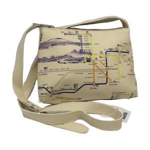 Tourist Line Shoulder Bag & Merinda Map
