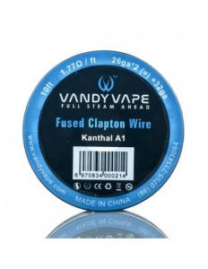 Fused Clapton Wire 26ga+32ga 3mt - Vandy Vape