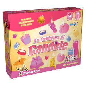 La fabbrica delle candele Gioco Science4you