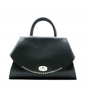 Borsa donna Olivia pope modello Capri nera con borchie