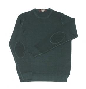 Maglione girocollo in pura lana vergine Raffo