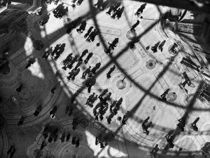 Giochi di luci in Galleria Vittorio Emanuele II, 1946