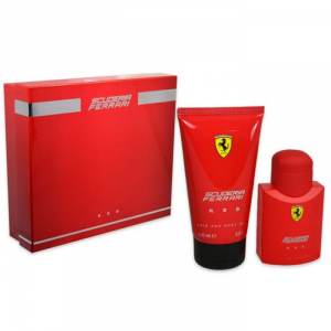 Ferrari Red Eau De Toilette Spray 40ml Set 2 Parti