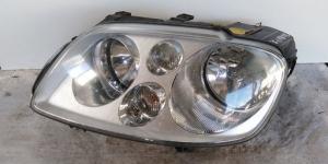 Proiettore faro anteriore sinistro sx usato originale Volkswagen Touran serie dal 2003 al 2010