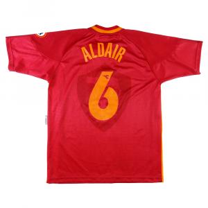 1997-98 Roma Maglia Home #6 Aldair L (Top)