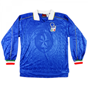 1995 Italia Maglia Home Match Issue #5 L (Top)