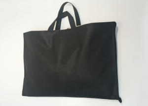 CLOTHES BAG -BLACK non-woven fabric-