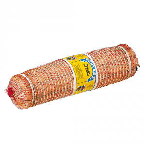 ERMES FONTANA Bacon with rind cured under vacuum halved weight 2/3 kg