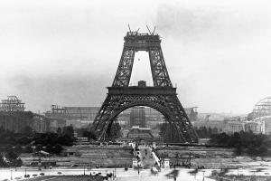 La Torre Eiffel in costruzione, 1888