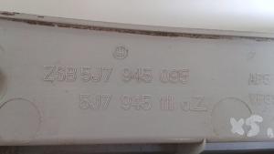 Fanale posteriore sinistro usato originale Skoda Roomster serie dal 2006 al 2010